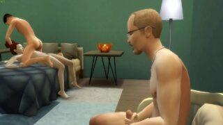 เกมส์โป๊18+ เดอะซิมxxxกับแม่ต่อหน้าพ่อของผม รอต่อคิวเย็ดแม่ต่อ