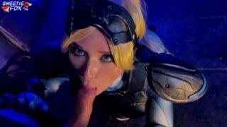 หนังโป๊ออนไลน์ คอสเพย์เลียนแบบเกมส์ xxx888 ขยี้แตดอมควยช่วยตัวเอง ขาวสวยน่ารักหีอวบ